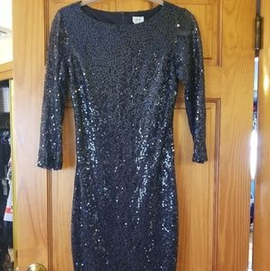 Cache sequin dress size 2